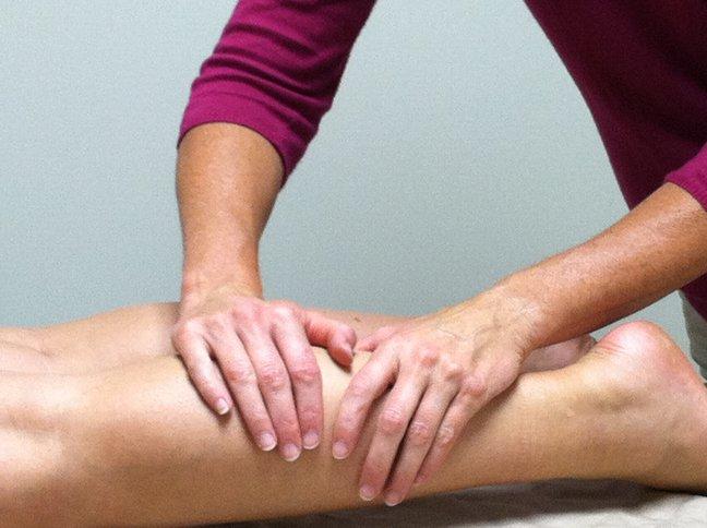 درمان لنف ادم پا