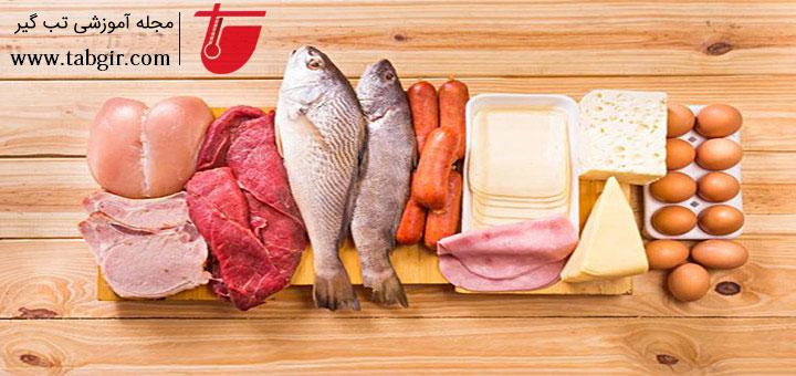 پروتئین برای رژیم غذایی بعد عمل زیبایی شکم