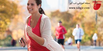 درمان ورم پا با ورزش کردن