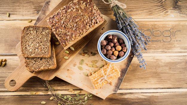 دوری از کربوهیدرات برای لاغری شکم