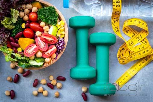 کاهش وزن اصولی و سریع